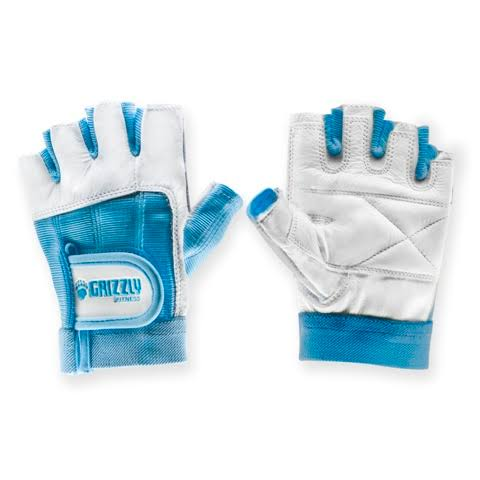 Grizzly Fitness Women's Paw Training Gloves - Blue, Medium
