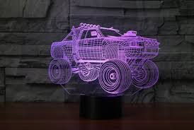 MONSTER TRUCK 3D LAMP 8 Changeable Colors – Spectrepro