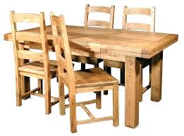 Unfinished Dining Room Tables Oak Chairs Cheap Inspirations Modern Awesome