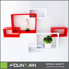 french melamine shelf diy set 2 cube shelf wall mounted wooden