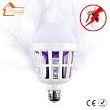 electronic mosquito killer light 220v e27 led bulb mosquito