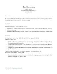 Resume Template With No Experience First Best High School Ideas
