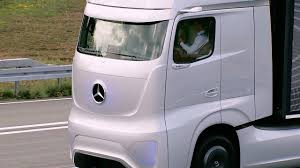 100 Mercedes 6 Wheel Truck Future 2025 Autonomous Driving Demonstration YouTube