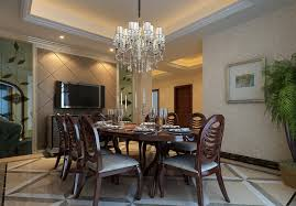 Dining Room Chandeliers New Golden And Partition For Luxury
