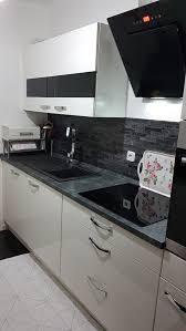 küche nobilia weiß hochglanz ikea schrank in 47443 moers