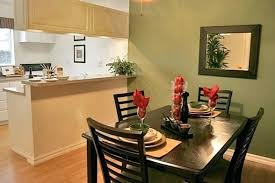 Small Apartment Dining Room Decorating Ideas