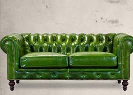 Darrin Leather Sofa From Jcpenney by Apple Green Chesterfield Sofa Interior Design Furniture