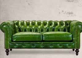 Bradington Young Leather Sofa Ebay by Apple Green Chesterfield Sofa Interior Design Furniture
