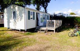 Rental mobile home Brittany Mobile home to rent in the Finistere