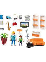 playmobil konstruktionsspielzeug wohnzimmer klingel