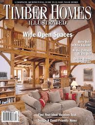 104 Wood Homes Magazine Timber Illustrated Harmony Timberworks
