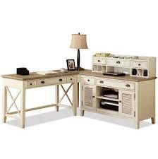 Wayfair Desks With Hutch by Corner Writing Desk U0026 Credenza With Hutch By Riverside Furniture