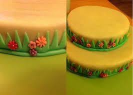décoration gateau d anniversaire en pate d amande
