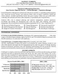 Complex Luxury General Manager Resume Operations Management For