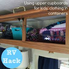 RV Organizing And Storage Hacks Small Spaces Organizing
