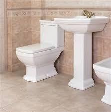 waschbecken keramik retro waschtisch inkl säule stand wc retro komplett set
