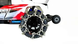 100 Snow Chains For Trucks TBR Fits Traxxas Rustler Helion 10ST 110 Stadium