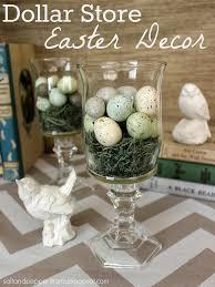 Dollar Store Easter Decor Salt And Pepper Moms