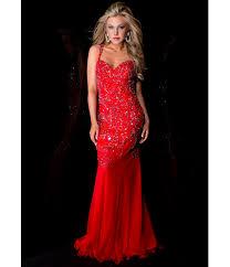 Sexy Red Prom Dress