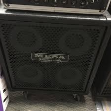 Mesa Boogie Cabinet Speakers by Used Mesa Boogie Standard Powerhouse 4x10 Bass Speaker Cabinet 4 X