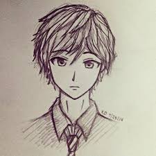 Anime Drawings In Pencil