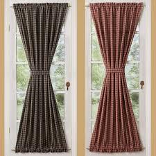Sturbridge Curtains Park Designs Curtains by Sturbridge French Door Panels Primitive Home Decors