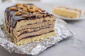 schokoladen erdnussbutter semifreddo