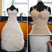 This Wedding Dress Took 300 Hours To Make But The Reason Why No