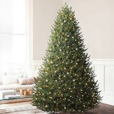 Balsam Hill BH Fir Premium Prelit Artificial Christmas Tree 9 Feet LED Clear