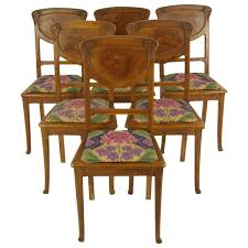 Art Nouveau Dining Room Chairs - 40 For Sale At 1stdibs Art Nouveau Ding Chairs In Alfreton Derbyshire Gumtree Set Of 6 Nouveau Carved Oak Ding Chairs Vinterior Of 4 4671a La70304 Quality Art Golden Oak High Slat Back 554 Antique Beauty Oaken Room Jugendstil Chair By Richard Riemerschmid Ars Design Dutch Mahogany Desk By Karel Sluyterman For Set 5 Four Early 20th Century Walnut Style Four Antique Art Nouveau Carved Ding Chairs 12 Arts Crafts Shapland Petter Antiques Atlas