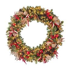 beautiful large pre lit christmas wreaths best selection with