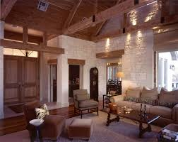 Austin Rustic Interior Design With Eclectic Decorative Boxes Living Room Traditional And Lintel Building