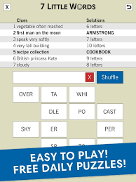 7 Little Words – Daily Puzzles Android Apps on Google Play