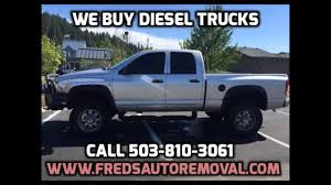 100 We Buy Trucks Cash For Diesel Portland Diesel Portland Sell