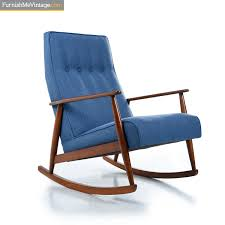 German Beech Mid-Century Modern Blue Rocking Chair Value Of A Danish Style Midmod Rocking Chair Thriftyfun Mid Century Armchair Teak Chair Wikipedia Vintage Midcentury Modern Wool White Tall Back In Gloucester Road Bristol Gumtree Wcaned Seat Nursery Royals Courage By Rastad Relling For Amazoncom Lewis Interiors Handcrafted Designer Edvard Design For The Home Nursing Sculptural
