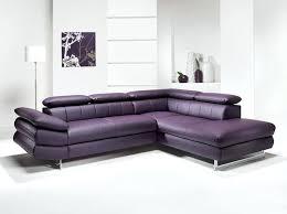 c discount canape d angle canape d angle c discount canapac dangle en pu et tissu violet