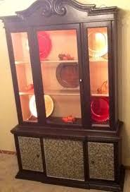 finished china cabinet idea for those built ins form