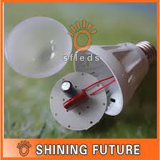 6pcs lot diy e27 5w led bulb shell kit 5 1w led lighting