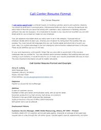 Resume Objective Examples For A Call Center Beautiful Customer Service Of Supervisor