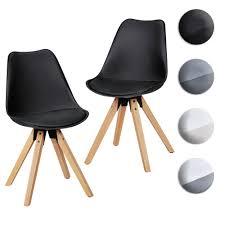 furniture en casa 2x design stühle weiß esszimmer stuhl