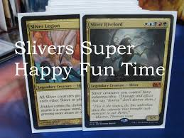 magic the gathering legacy aggro sliver deck youtube