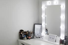 A DIY IKEA Alex Dresser & Illuminated Mirror