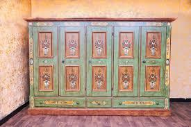 voglauer anno 1800 altgrün kleiderschrank schlafzimmer