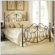 Wrought Iron King Headboard by Black Wrought Iron Bedside Lamps Floor Lamp Black Iron Scroll