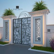 100 Contemporary Gate Entrance Arch Design For Inviting Front Yard Decor