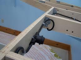 lower deck lighting progress lk o