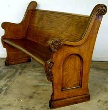 really want to make a bed from church pews homeward bound