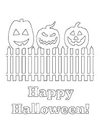 Jackolantern Happy Halloween Coloring Page