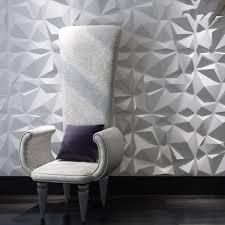 Diamond 3D Textured Wall Panels 12 Pcs Illuminative Covering 3229 SqFt