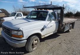 1996 Ford F350 Flatbed Pickup Truck | Item DB9783 | SOLD! Fe...